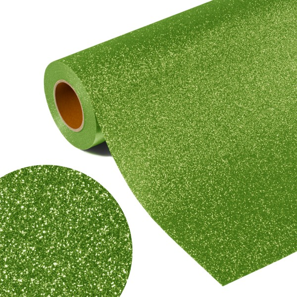 Folia GLITTER FLEX FLGU 250 - SPRING GREEN