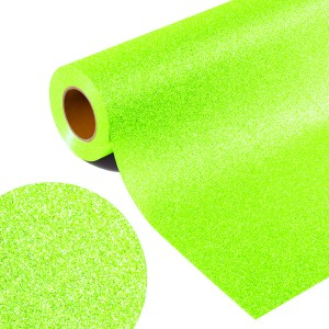 Folia GLITTER FLEX FLGU 259 - NEON RAINBOW GREEN