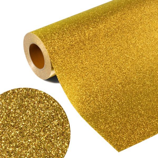 Folia GLITTER FLEX FLGU 40 - GOLD