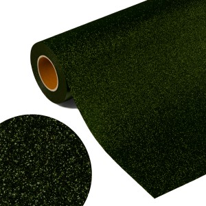 Folia GLITTER FLEX FLGU 55 - DARK GREEN