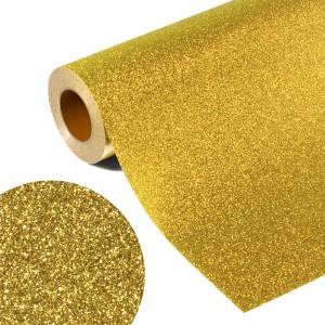 Folia GLITTER FLEX GL 503 - LIGHT GOLD