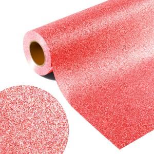 Folia GLITTER FLEX GL 511F - NEON RED