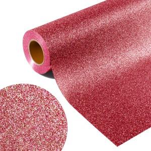 Folia GLITTER FLEX GL 514R - RAINBOW RED