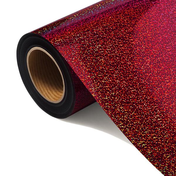 Folia HOLOGRAPHIC FLEX FLHO 206-S - RED