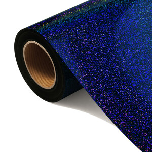 Folia HOLOGRAPHIC FLEX FLHO 209-S - ROYAL BLUE