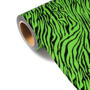 Folia FLSH 678 - ZEBRA FLUO GREEN