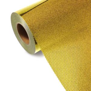 Folia TURBO GLITTER GL 553T - GOLD