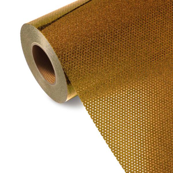 Folia TURBO GLITTER GL 554T - LIGHT GOLD